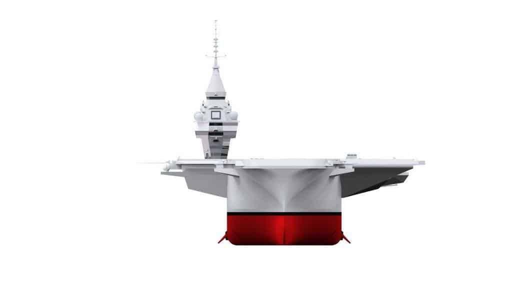 Франція анонсує новий атомний авіаносець. Рендер нового атомного авіаносця Франції. Грудень 2020