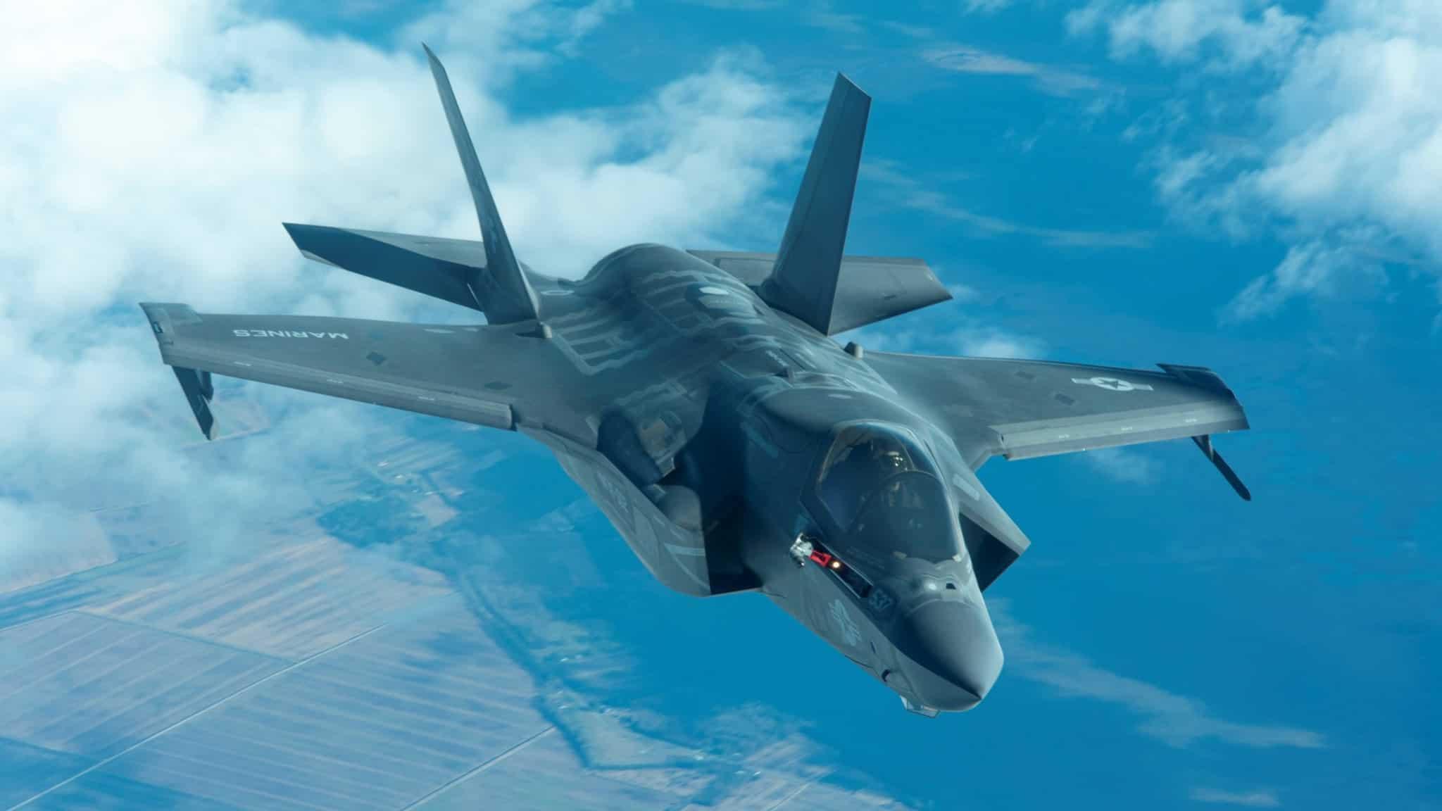 Винищувач F-35. 2020 рік. Фото: ПС США