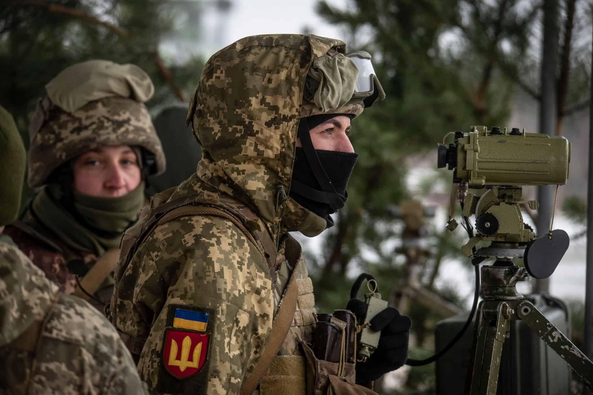 Артилеристи 93-ї окремої механізованої бригади «Холодний Яр». Грудень 2020. Фото: ЗСУ
