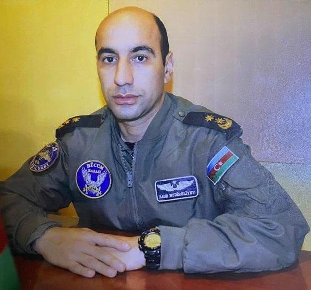 Загиблий пілот Су-25 ПС Азербайджану Заур Нудіраліев