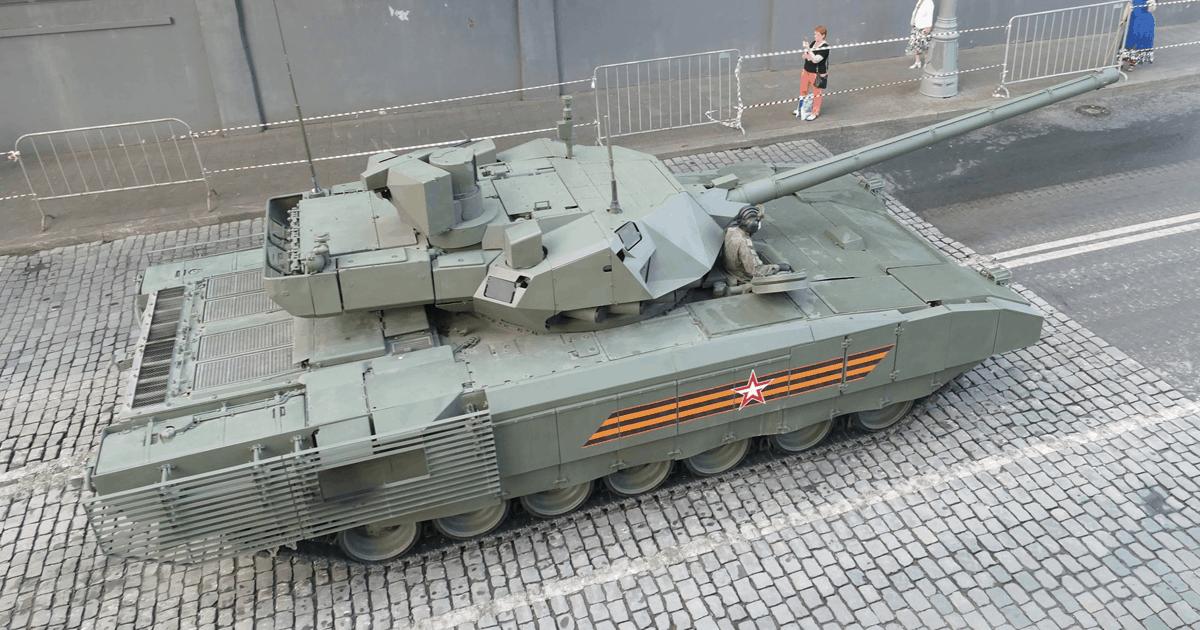 Танк Т-14 на платформі «Армата». Фото: ЗМІ РФ