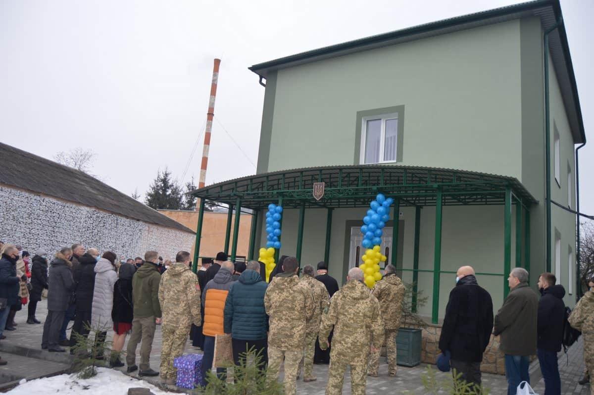 ВСП отримала будівлю у Тернополі. Грудень 2020. Фото: АрміяInform