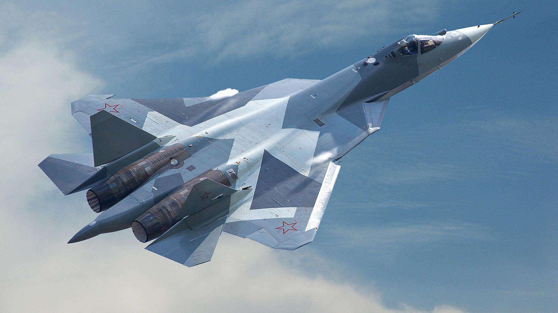 Багатоцільовий літак Су-57 (ПАК-ФА)