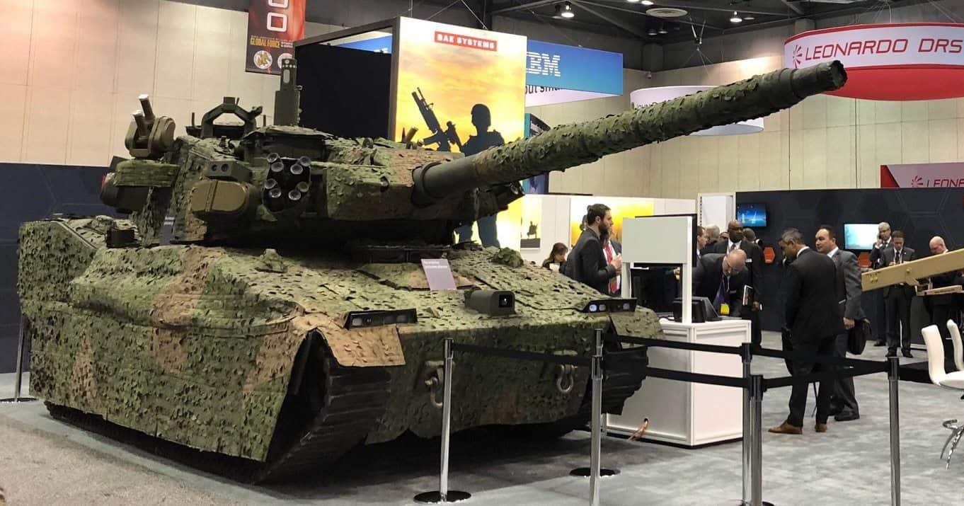 Для армії США готують легкі танки. Фото: Машина від BAE Systems на основі M8 Buford