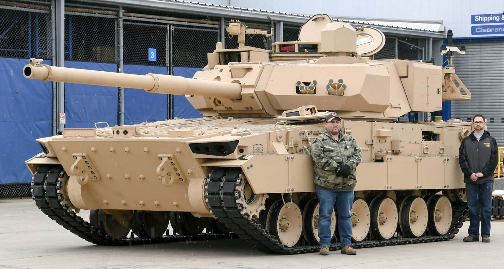 Для армії США готують легкі танки. Фото: Машина від General Dynamics на шасі AJAX