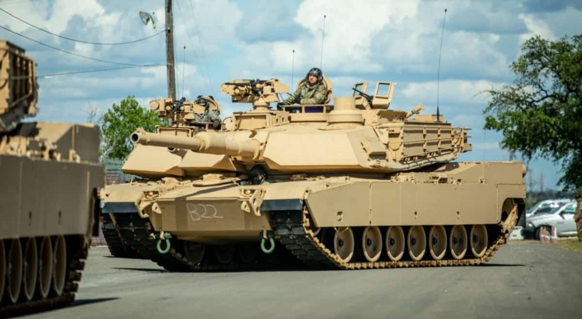 Танки M1A2 SEP v3 (Abrams) 3-ї бронетанкової бригади США. Фото: ЗС США