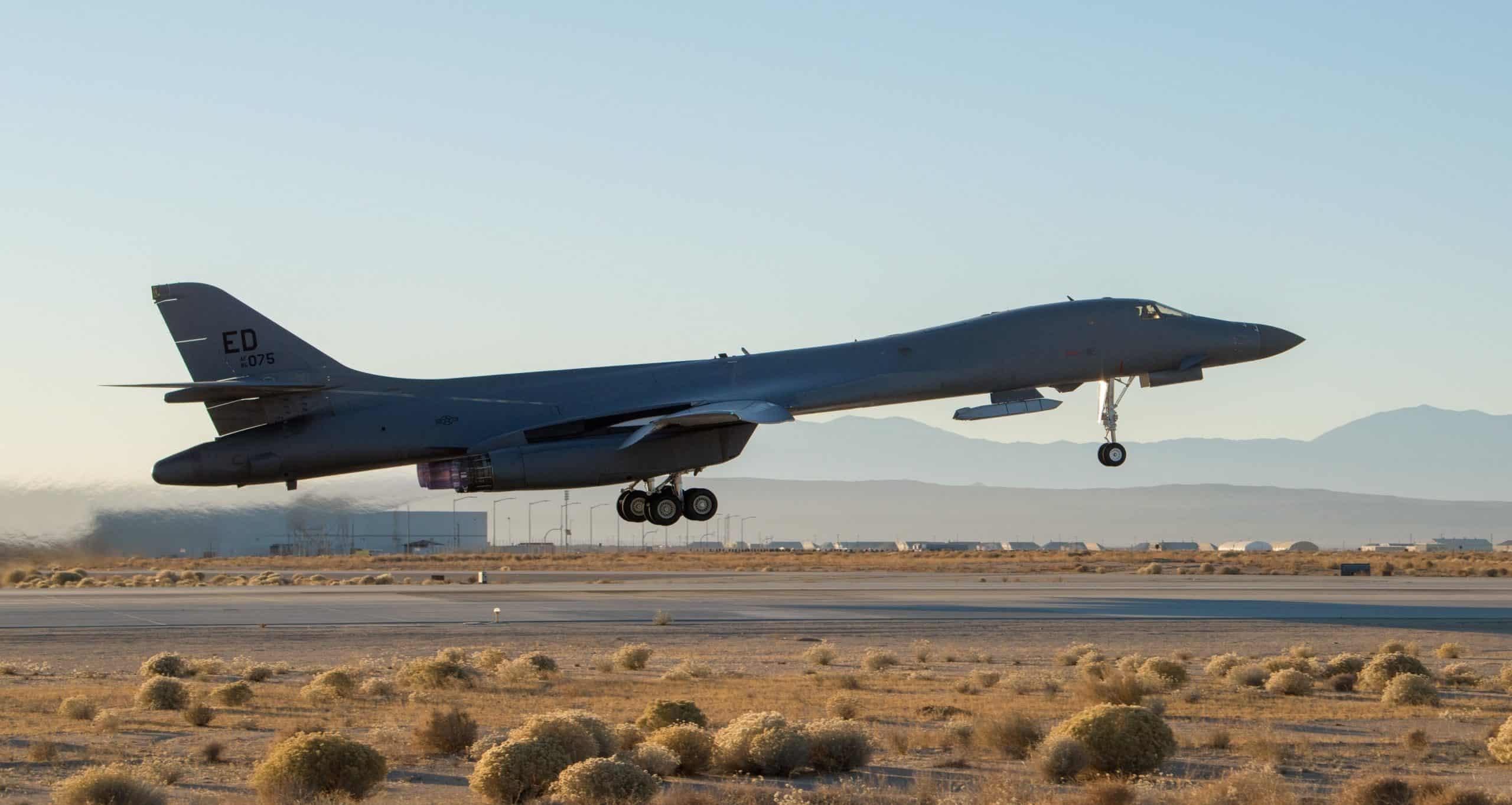B-1B «Lancer» з ракетою AGM-158 JASSM. Грудень 2020. Фото: ПС США