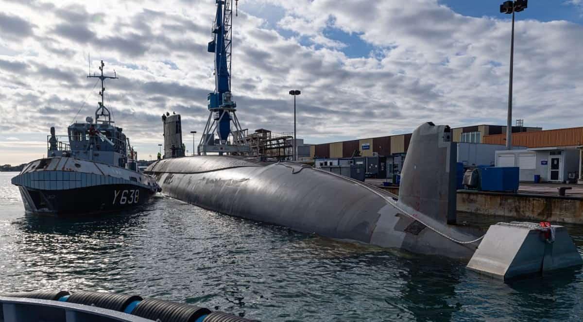Підводний човен S606 «Perle». Фото: ЗМІ Франції