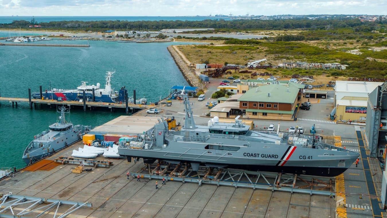 Перший патрульний корабель класу «Cape» для Тринідаду і Тобаго. Грудень 2020. Фото: Austal