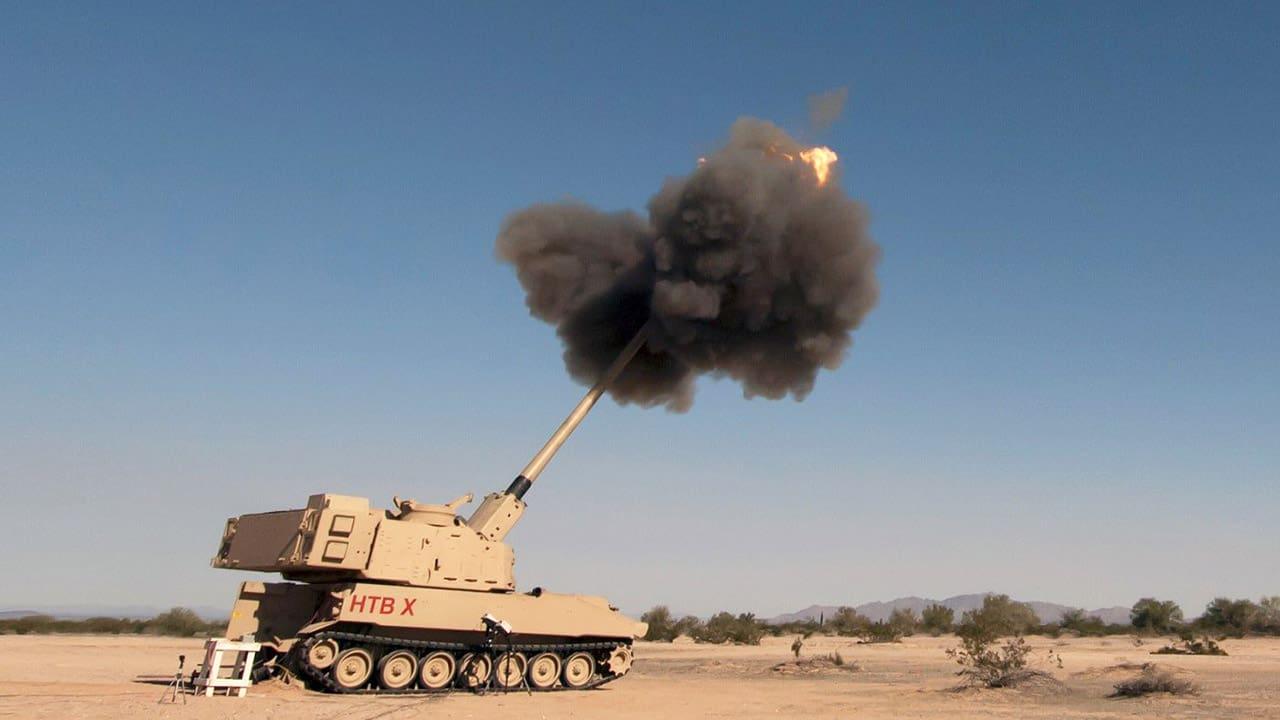 САУ «XM1299» на далекобійних випробуваннях