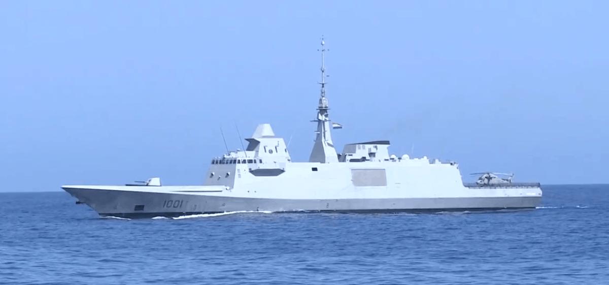 Фрегат ВМС Єгипту FFG 1001 Tahya Misr типу FREMM. Фото з відкритих джерел
