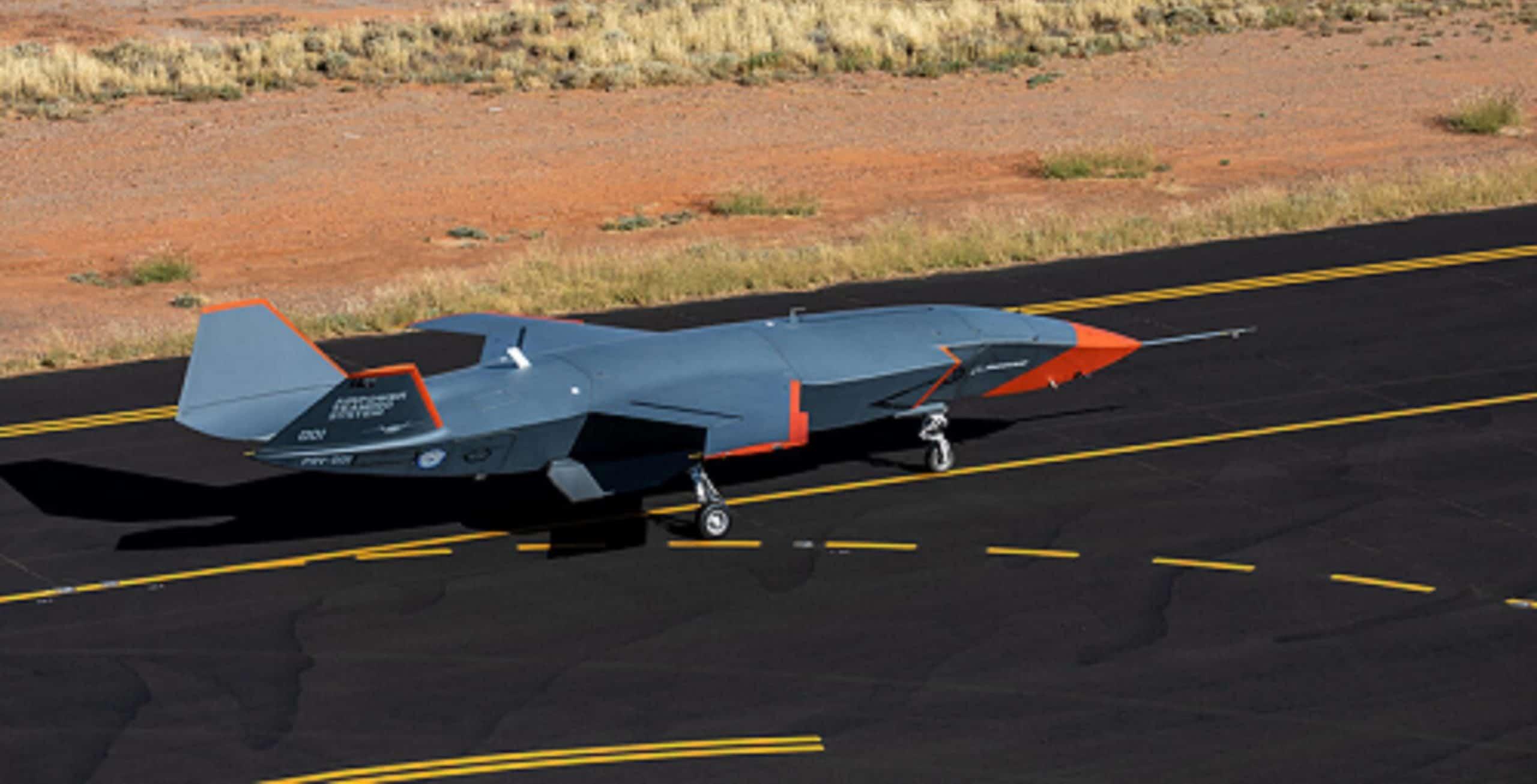 Безпілотний ведений «Loyal Wingman». Грудень 2020. Фото: Boeing