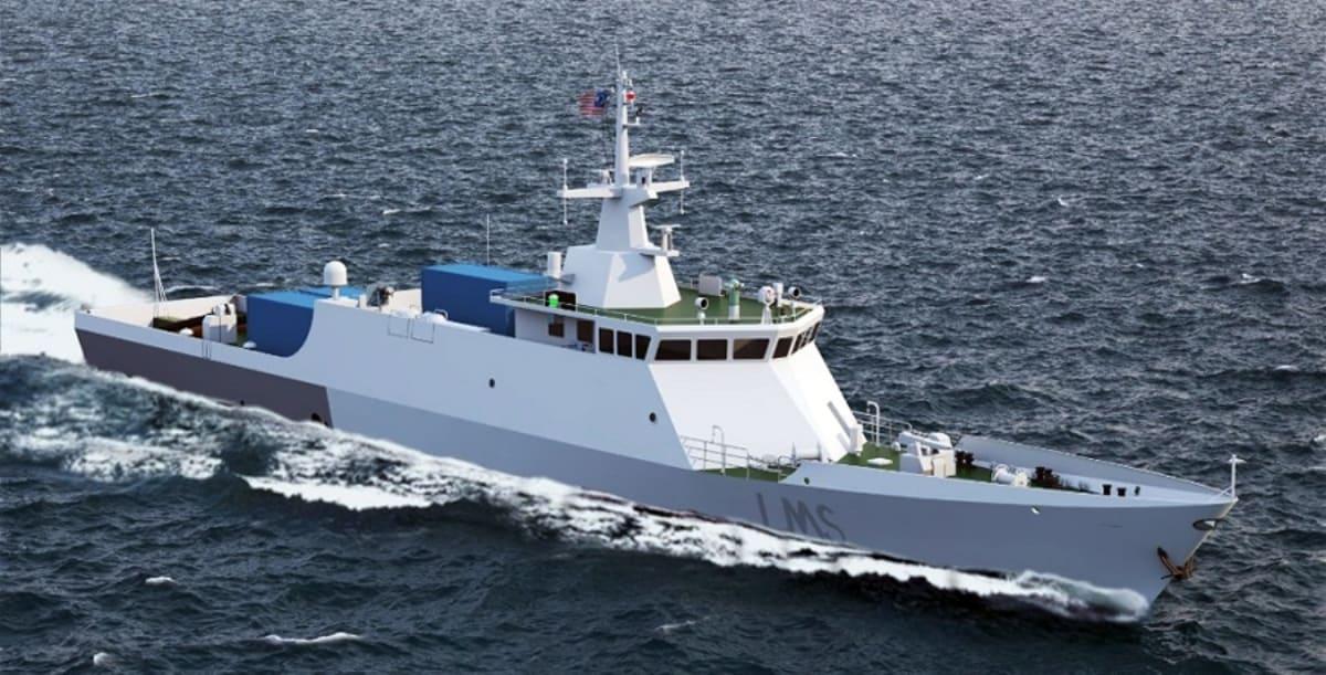 Ілюстрація корабля класу LMS