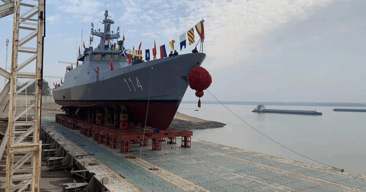 Четвертий корабель класу LMS серії «Keris». Грудень 20 20. Фото: ЗМІ Малайзії