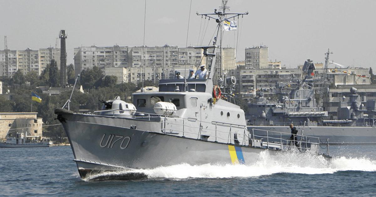 Артилерійський катер U170 «Скадовськ» ВМС ЗСУ. Фото з відкритих джерел