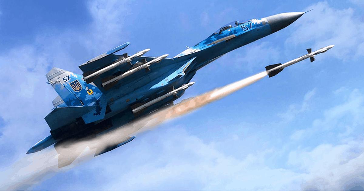 Ілюстрація від ДП СЗТФ «ПРОГРЕС»: Су-27 з Р-27