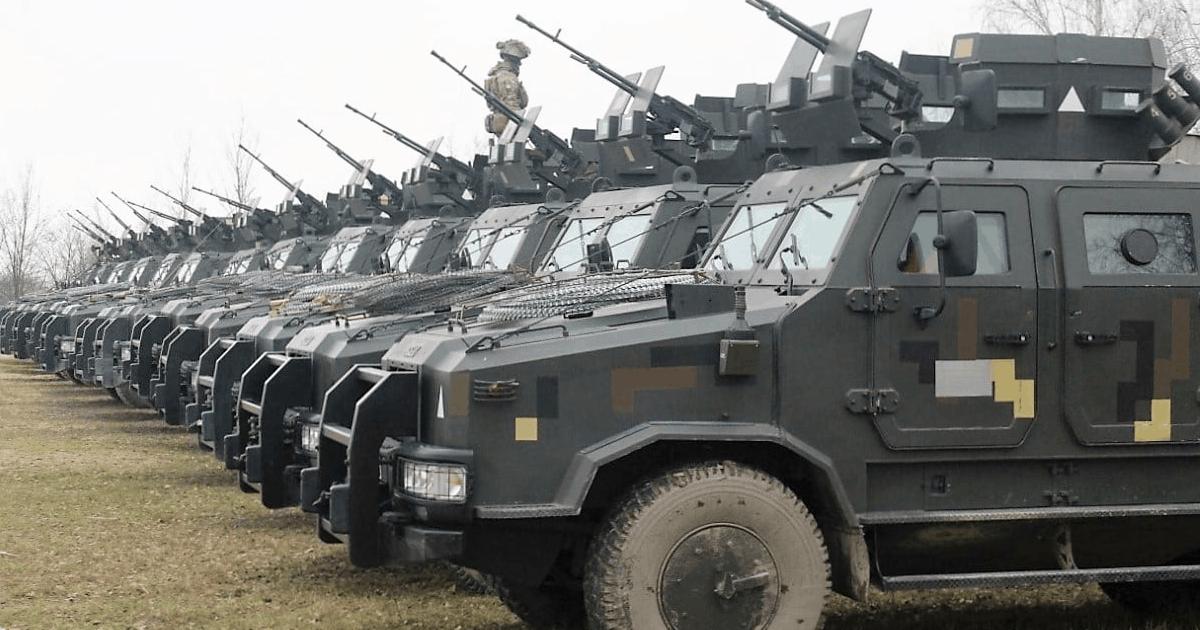 Бюджет підписано: 267 млрд на безпеку та оборону. Фото: Бронеавтомобілі «Козак-2». Листопад 2020. 95 ОДШБр