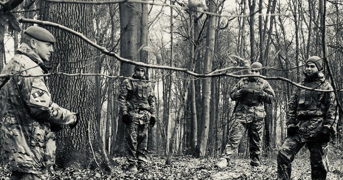 Британські інструктори провели тренування ЗСУ в рамках місії «ORBITAL». Грудень 2020. Фото: МО України