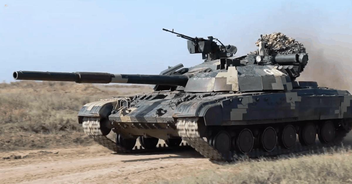 Т-64БМ «Булат» ЗСУ під час навчань. Листопад 2020. Фото: ЗСУ