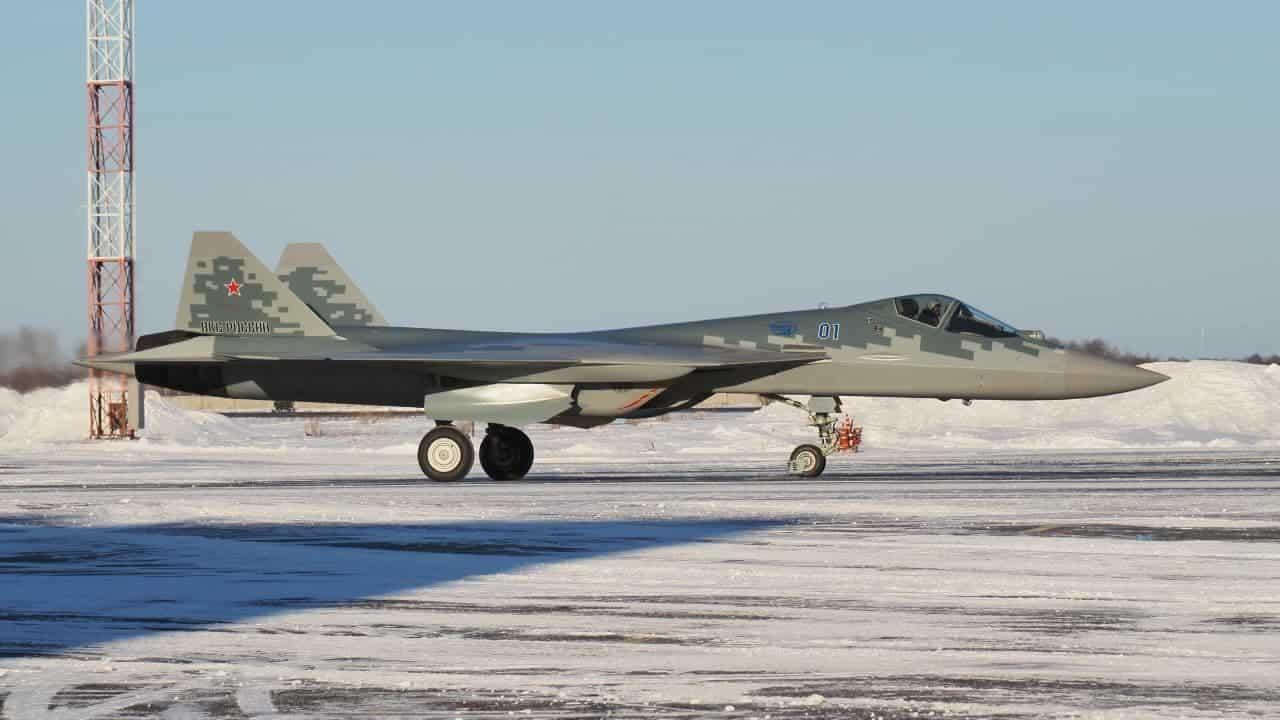 Перший серійний Су-57 для ПКС Росії