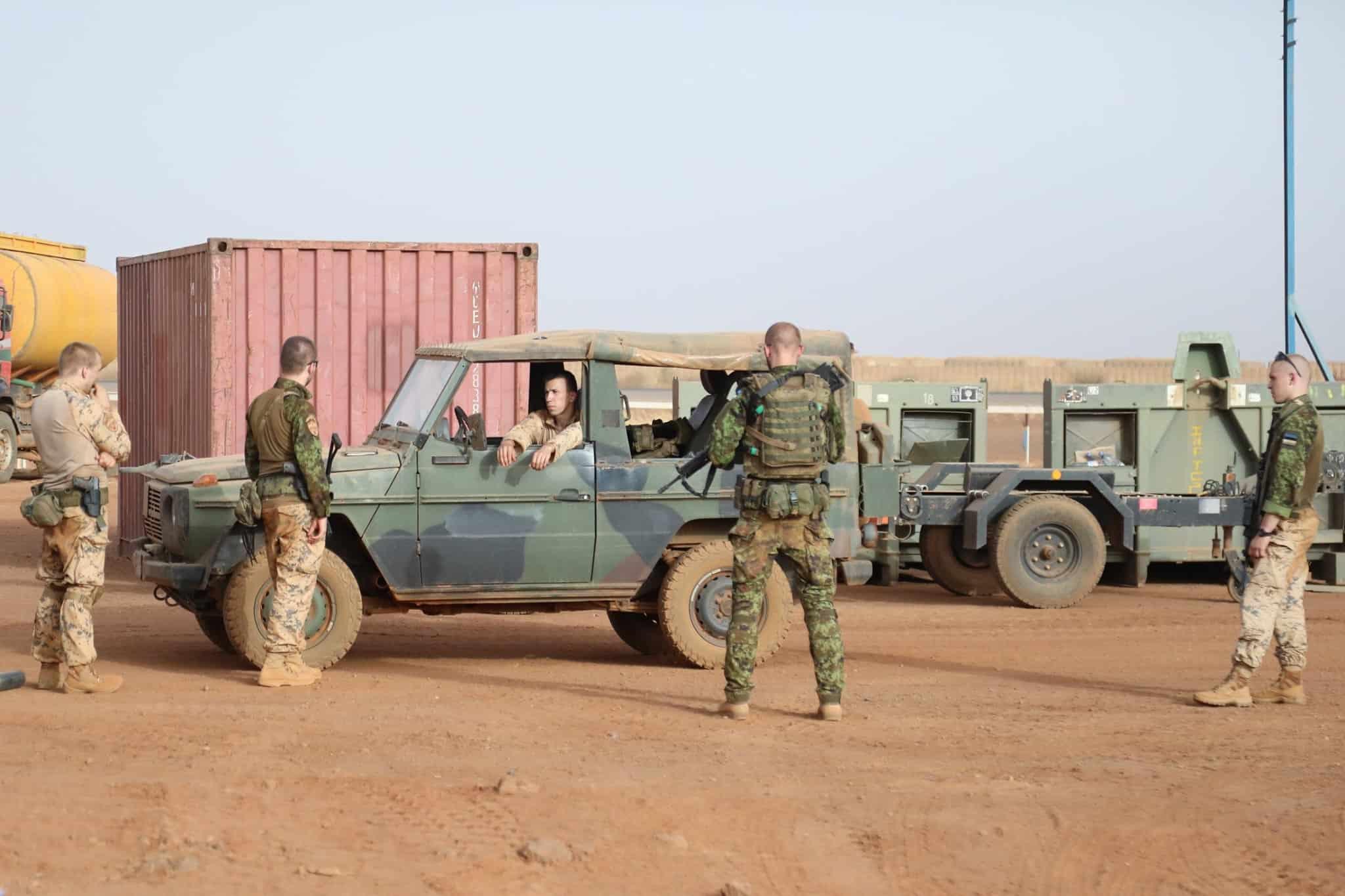 Позашляховик Mercedes Benz на озброєнні Сил оборони Естонії
