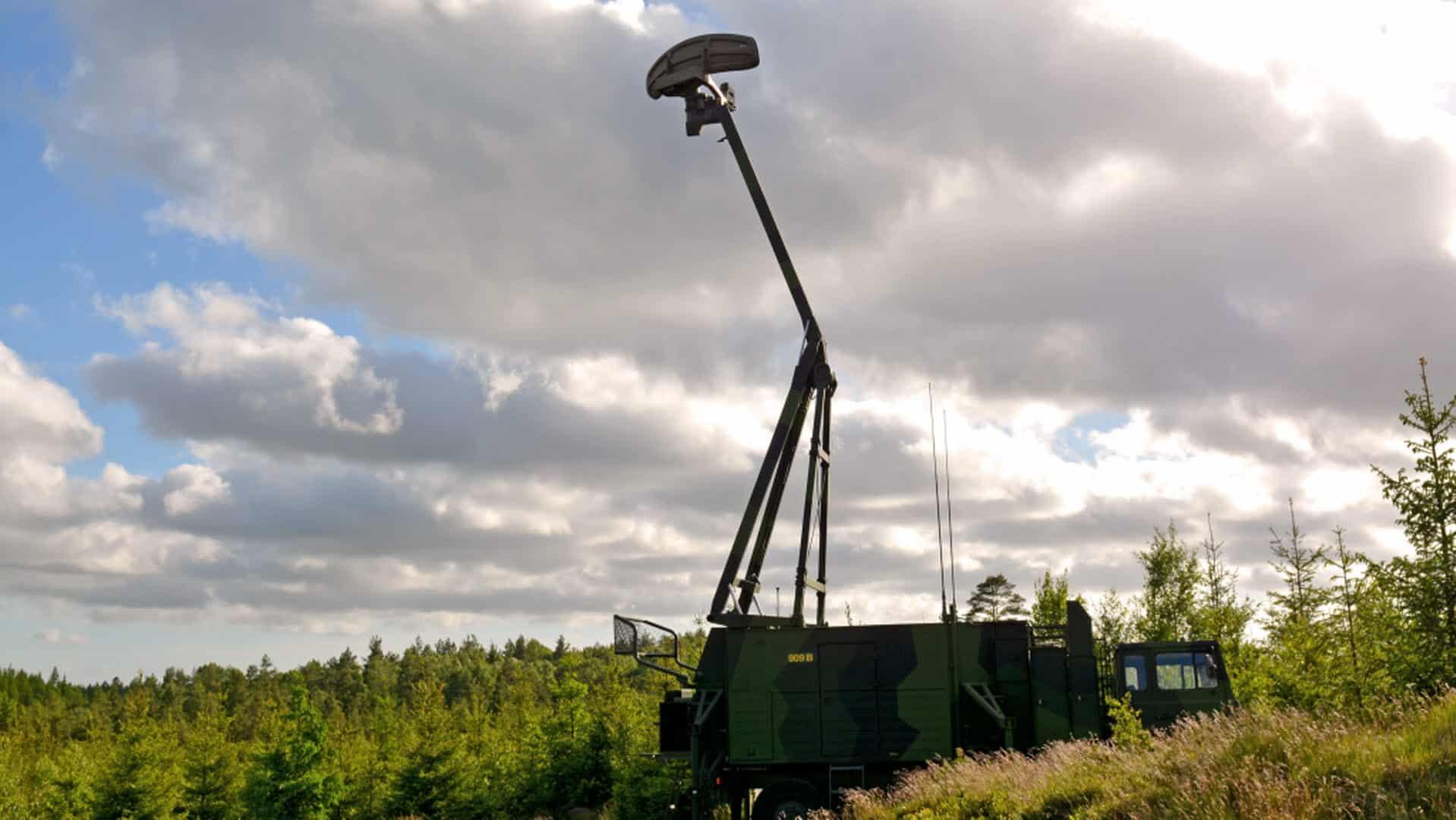 РЛС Giraffe AMB на озброєнні ЗС Швеції
