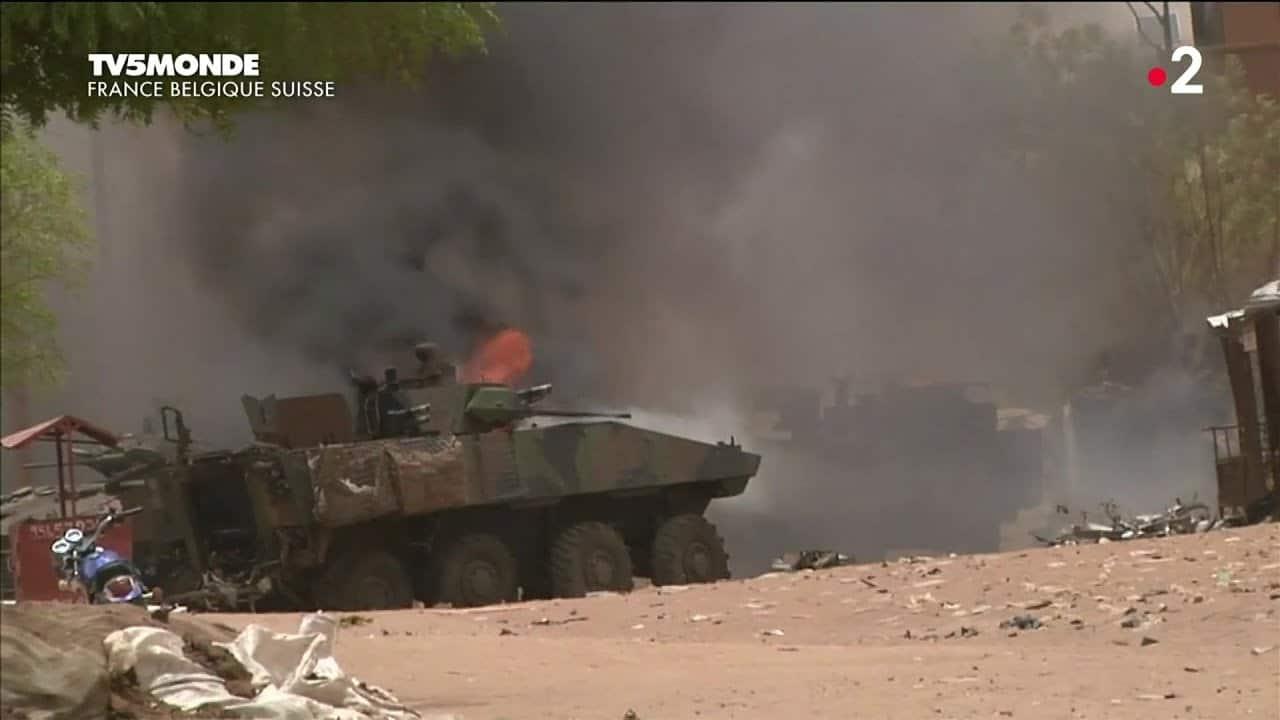 Результат підриву французького БТР VBCI у Малі