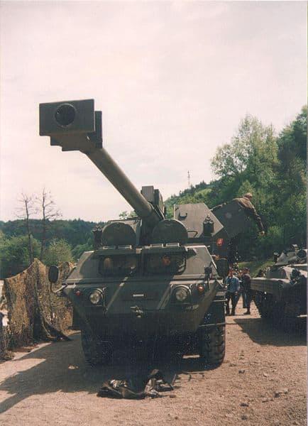 САУ Dana збройних сил Словаччини
