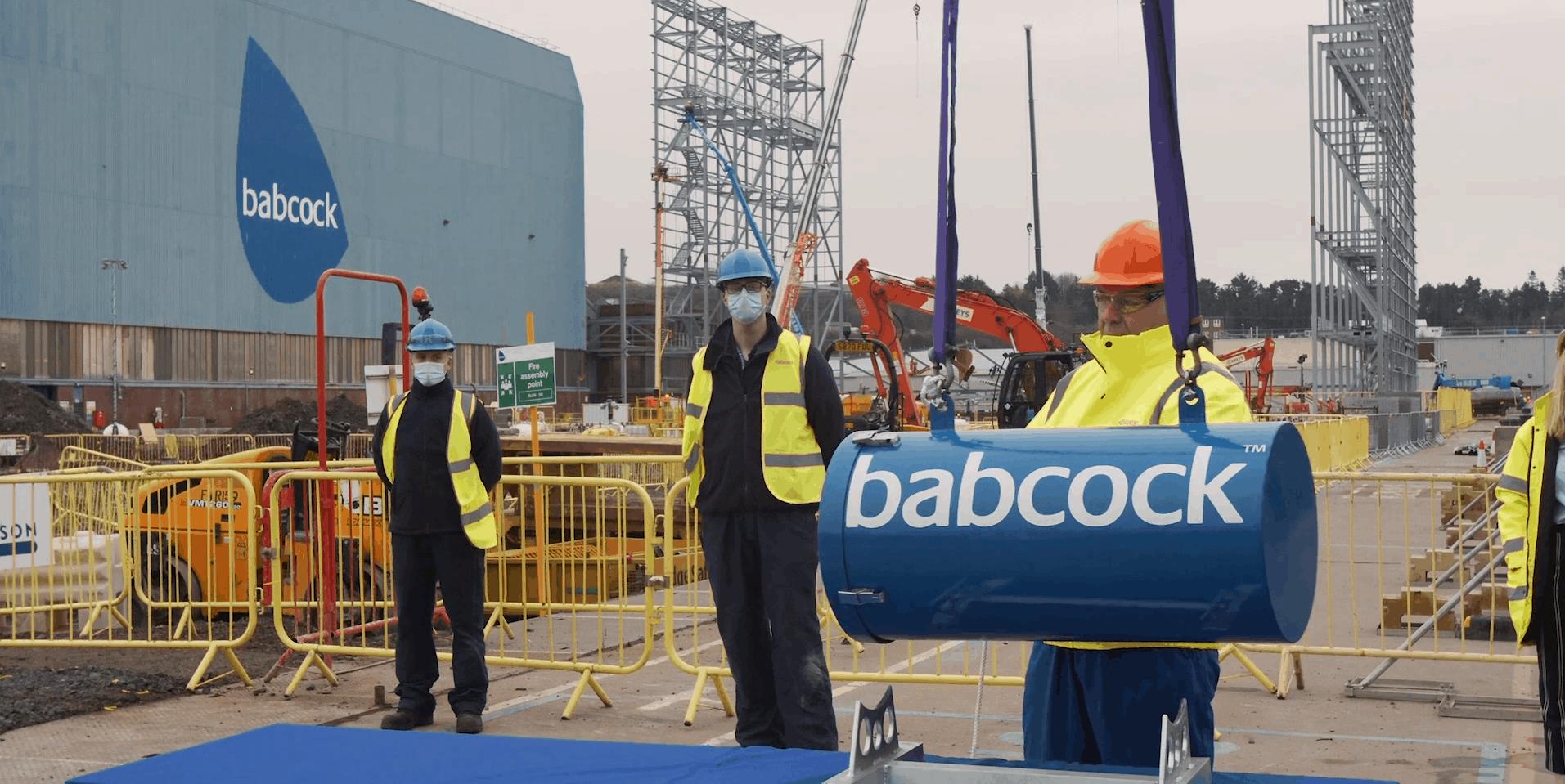 Будівництво нового цеху на верфі Babcock у Шотландії
