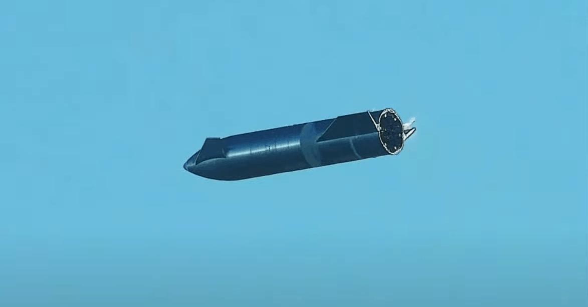 Прототип Starship (SN8) від SpaceX. Грудень 2020