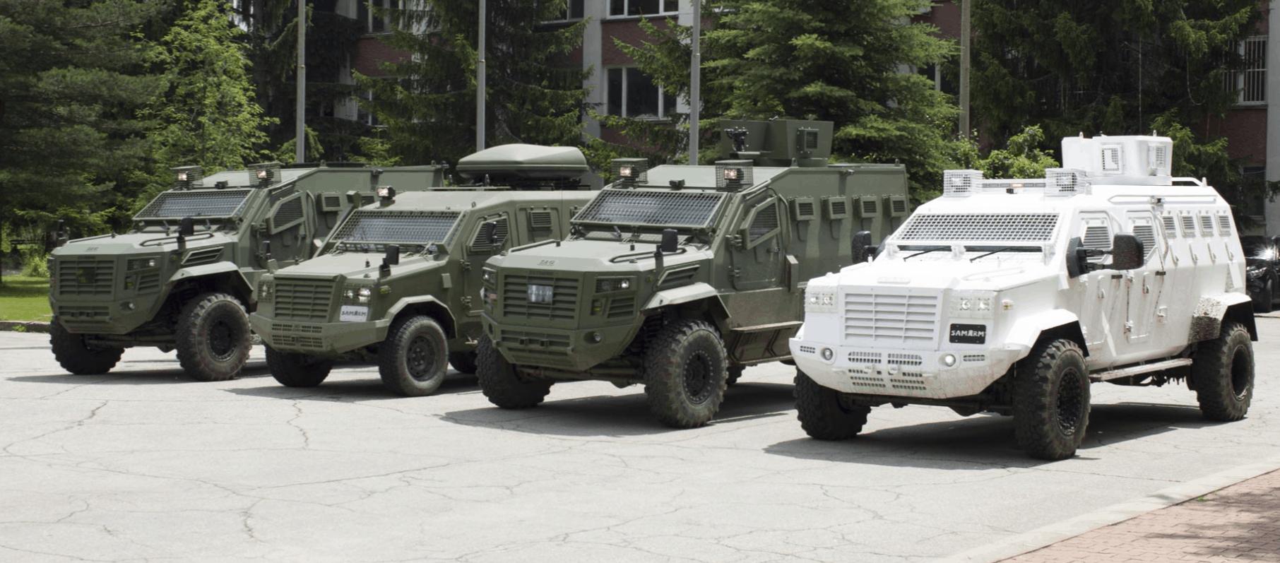 Модифікації бронемашин «Guardian» консорціуму SamArm