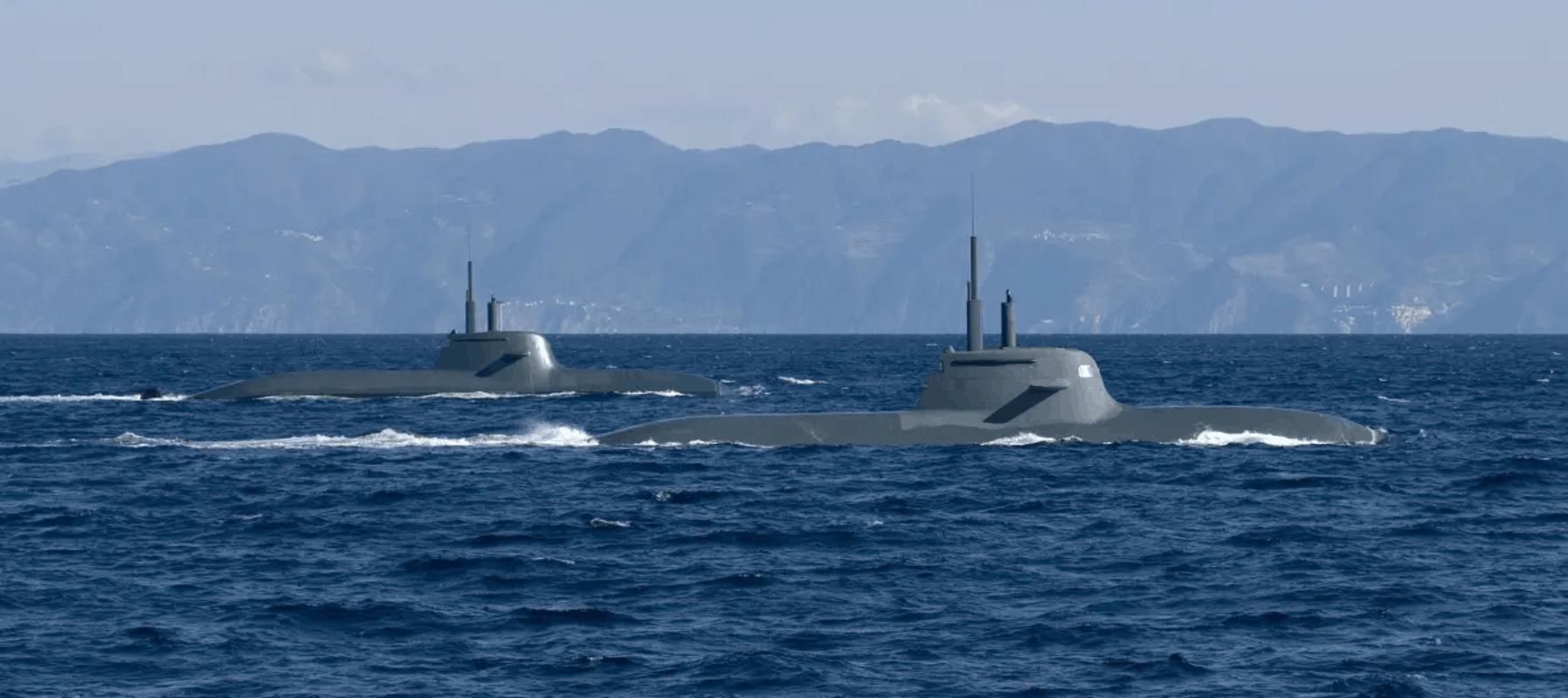 Італія закупить нові підводні човни. Субмарини типу U212A ВМС Італії. Фото з відкритих джерел