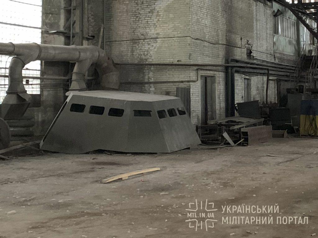 Стан будівництва 3-го корпусу десантно-штурмового катеру проєкту 58503