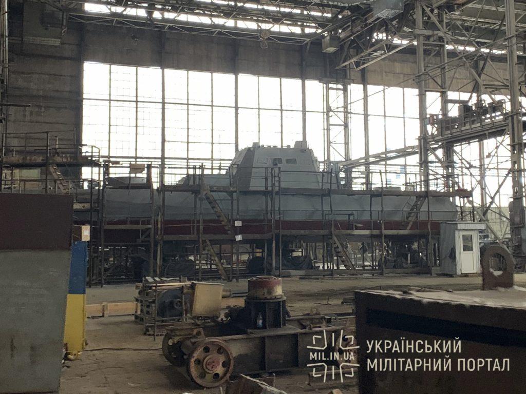 Стан будівництва 8-го корпусу МБАКу проєкту 58155