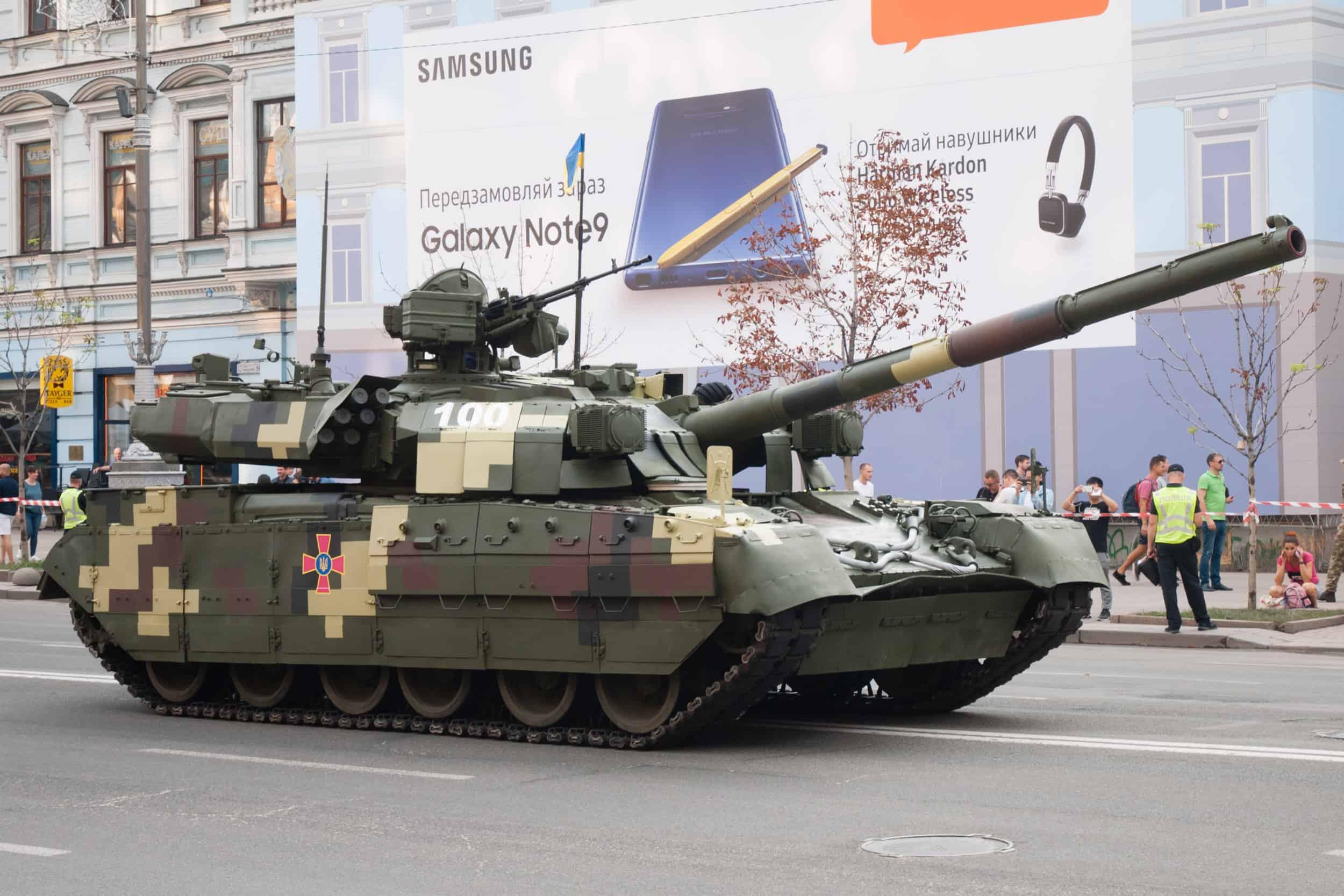 Танк Т-84-120 «Ятаган»