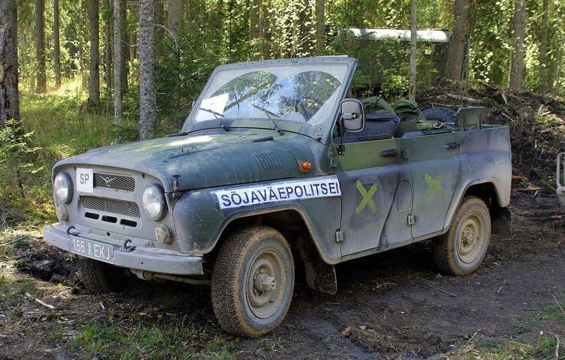 УАЗ-469 на озброєнні естонської армії