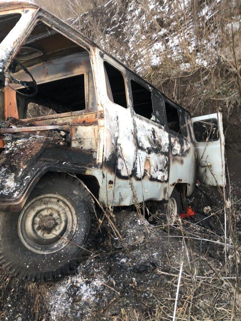УАЗ контрабандистів виявлений на кордоні з Росією