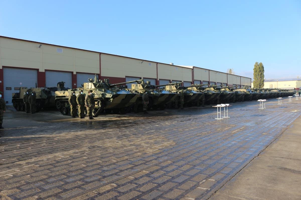 БМД-4М та БТР-МДМ ЗС Росії. Листопад 2020. Фото: МО РФ