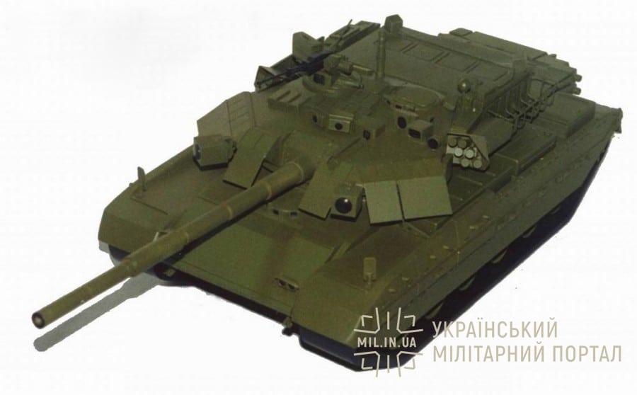 Варіант модернізації танку M60 від ДП «ХКБМ»