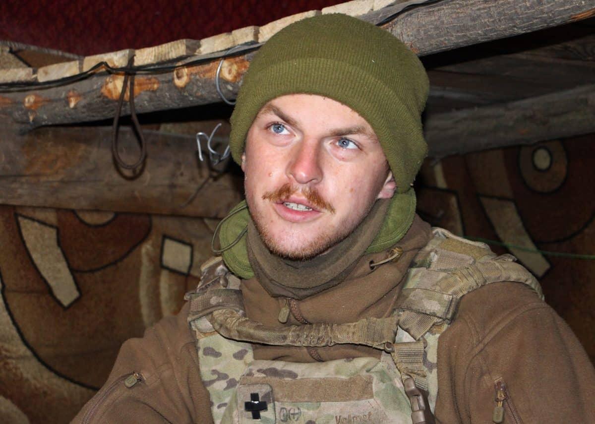 Британець Деніель Рідлі на службі в Морській піхоті ЗСУ. 2020 рік. Фото: АрміяInform