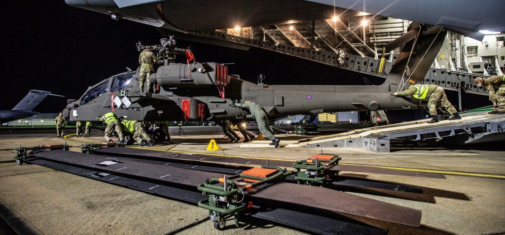 AH-64E «Apache Guardian» v.6 Великої Британії. Листопад 2020. Фото: МО В.Британії