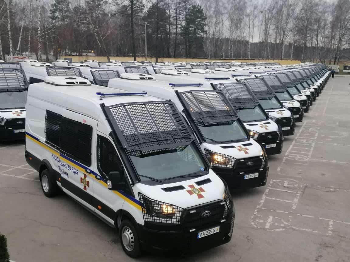 спецавтомобілі на базі Ford Transit для НГУ
