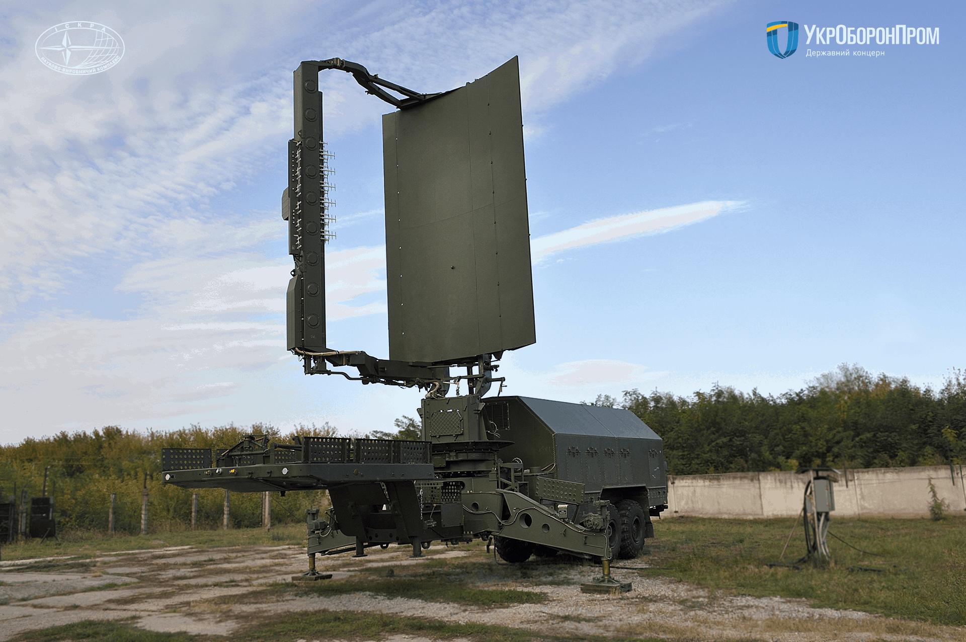 Виготовлена в рамках ДОЗ-2020 РЛС 35Д6М
