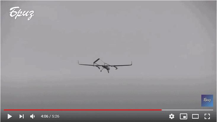 Безпілотний літальний апарат PD-2 на полігоні «Широкий Лан»