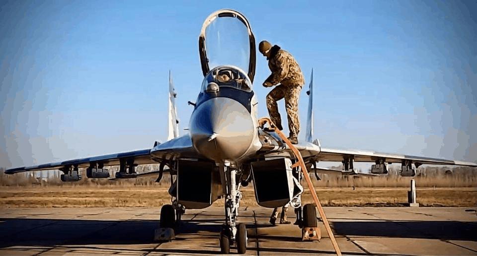 Модернизированный истребитель МиГ-29МУ1