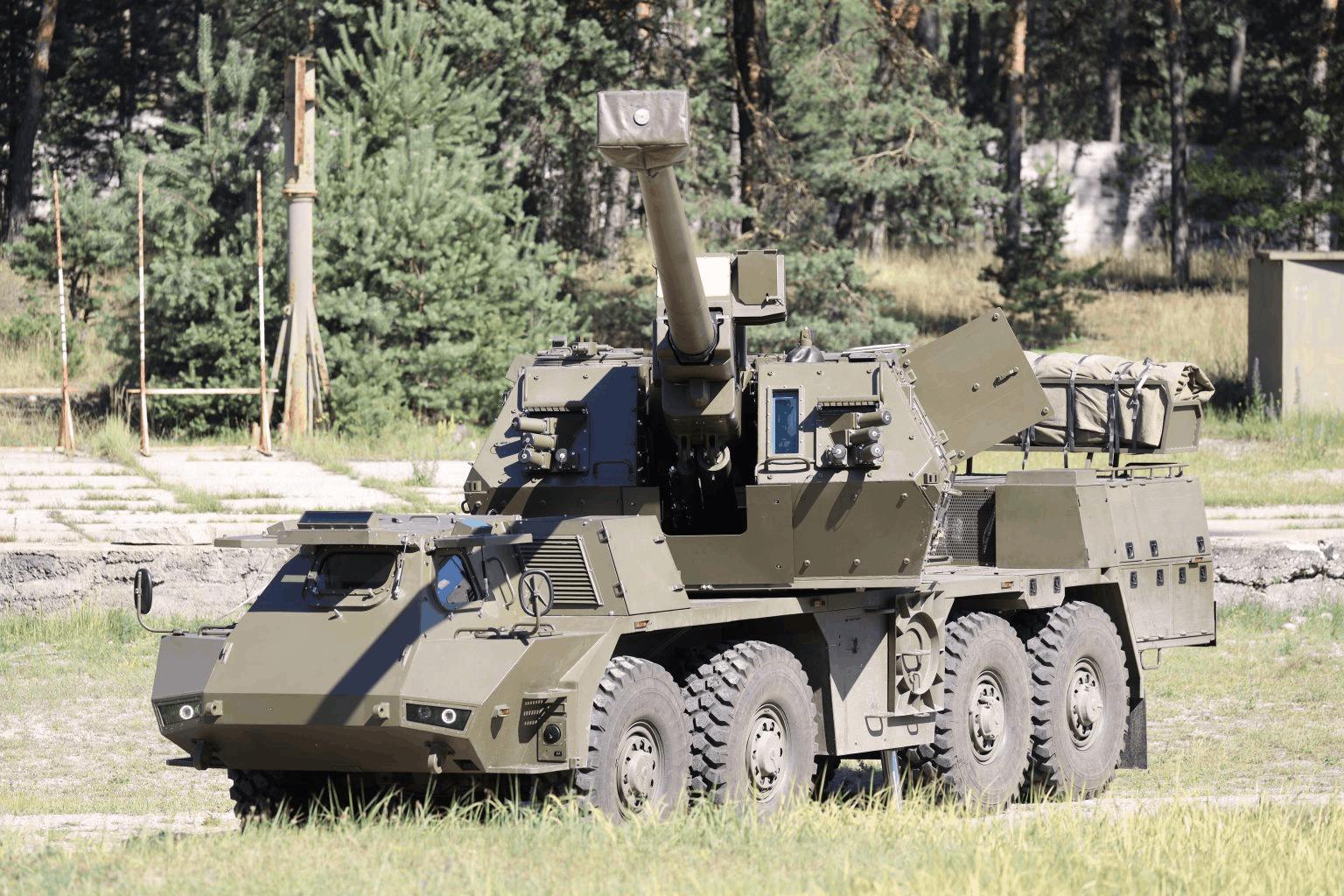 Самохідна артилерійська установка (САУ) Zuzana 2