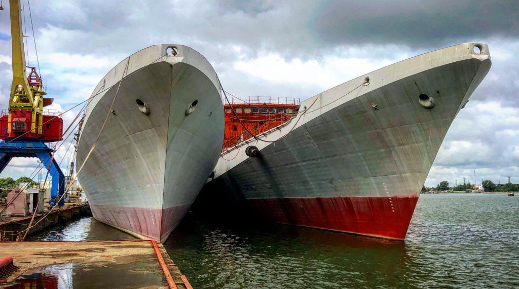 Будівництво фрегатів проєкту 11356. Фото: ЗМІ РФ