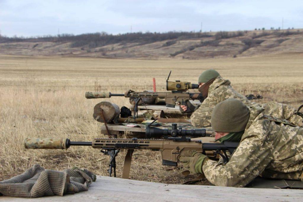 Снайпери 92 ОМБр. Січень 2021. Фото: ЗСУ