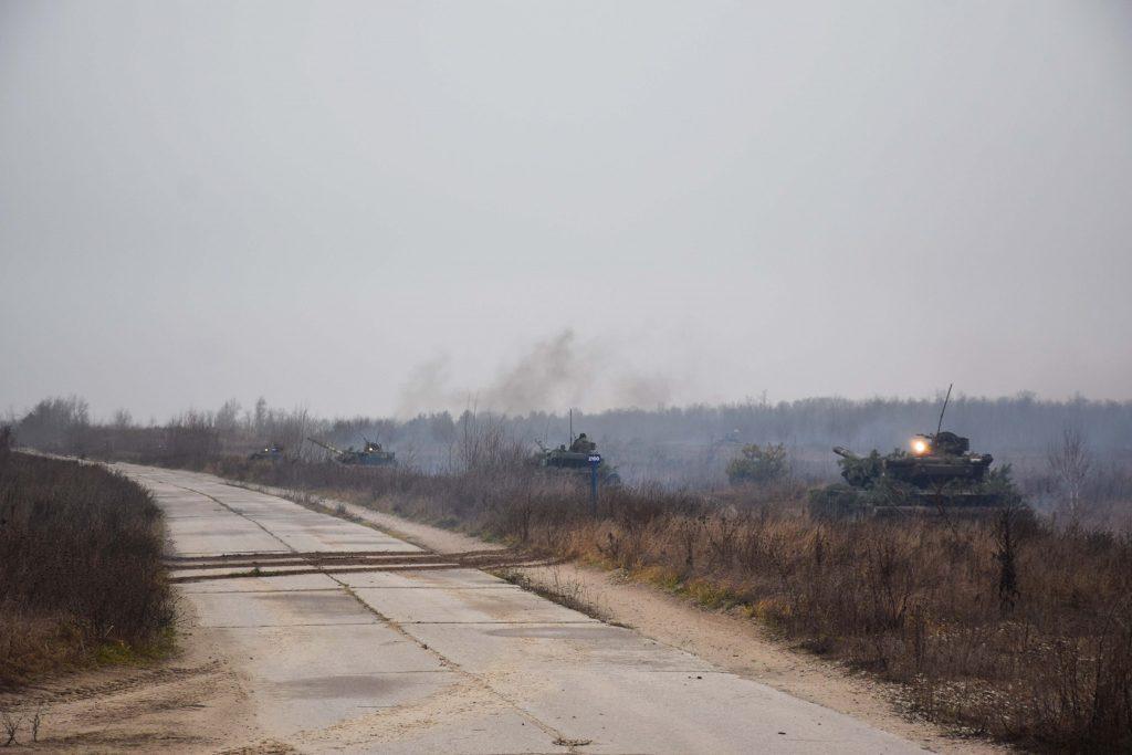 Танкова бригада вчилася завдавати втрат противнику. Танки Т-64БВ ЗСУ. Січень 2021. Фото: 1 ОТБр