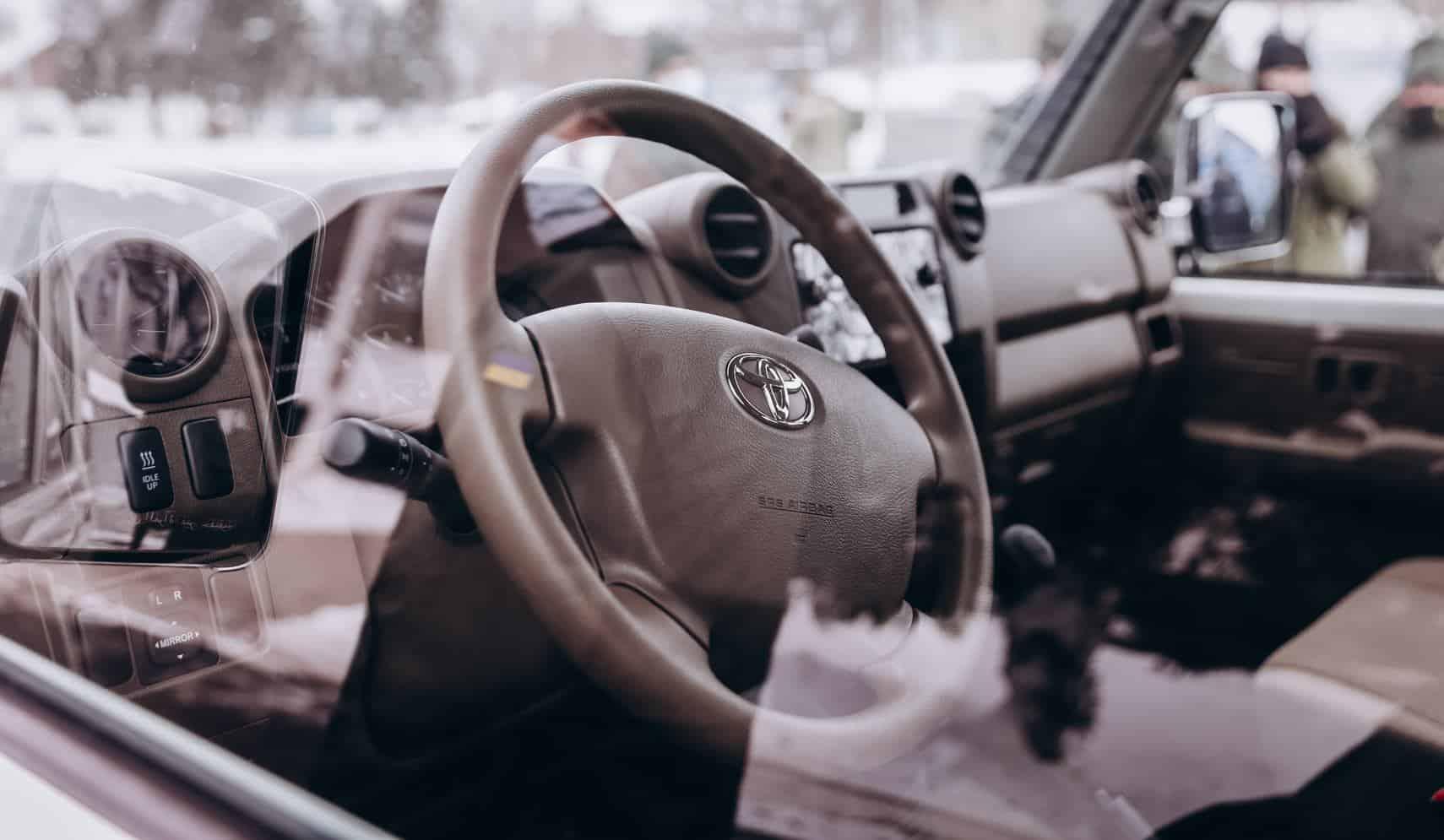 Нацгвардія отримала автотехніку Toyota та Ford. Січень 2021. Фото: НГУ